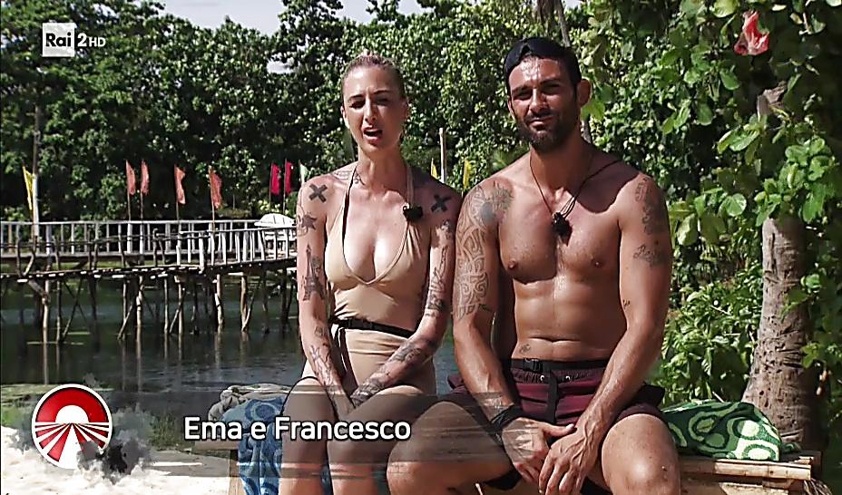 Francesco Arca sexy shirtless scene October 9, 2017, 1pm