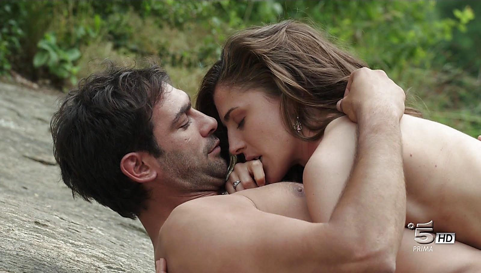 Francesco Arca sexy shirtless scene December 21, 2017, 3pm