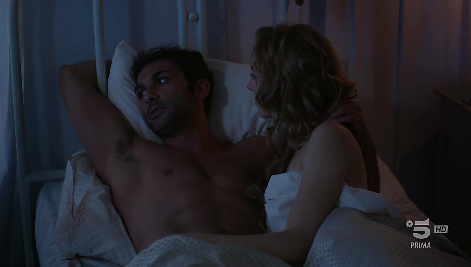Francesco Arca latest sexy shirtless scene July 10, 2018, 11am