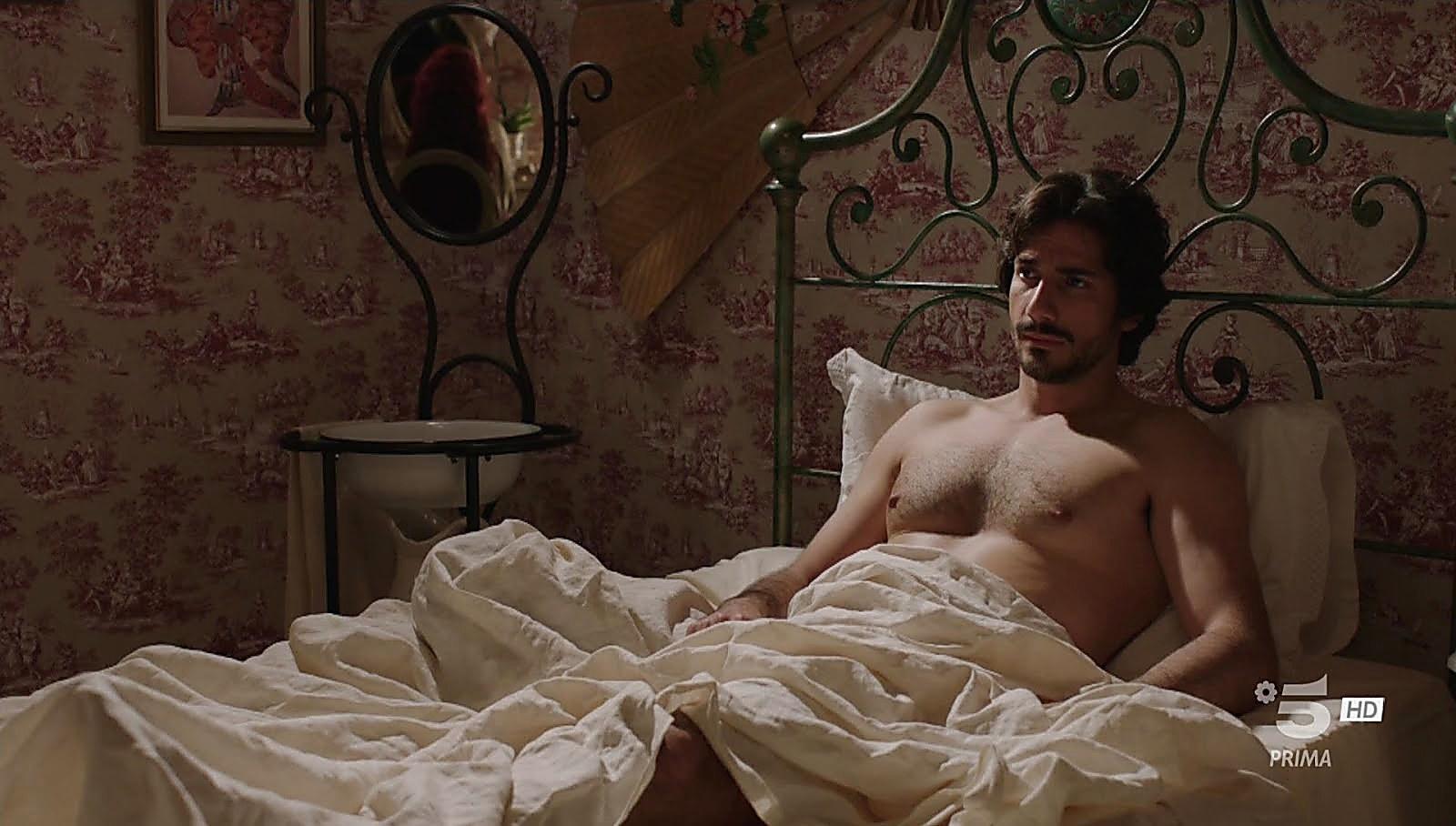 Francesco Arca sexy shirtless scene July 21, 2018, 1pm