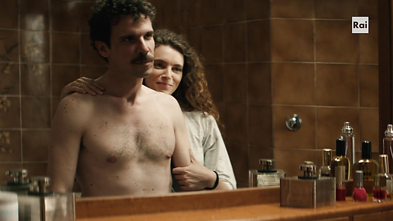 Francesco Montanari sexy shirtless scene March 1, 2020, 10am