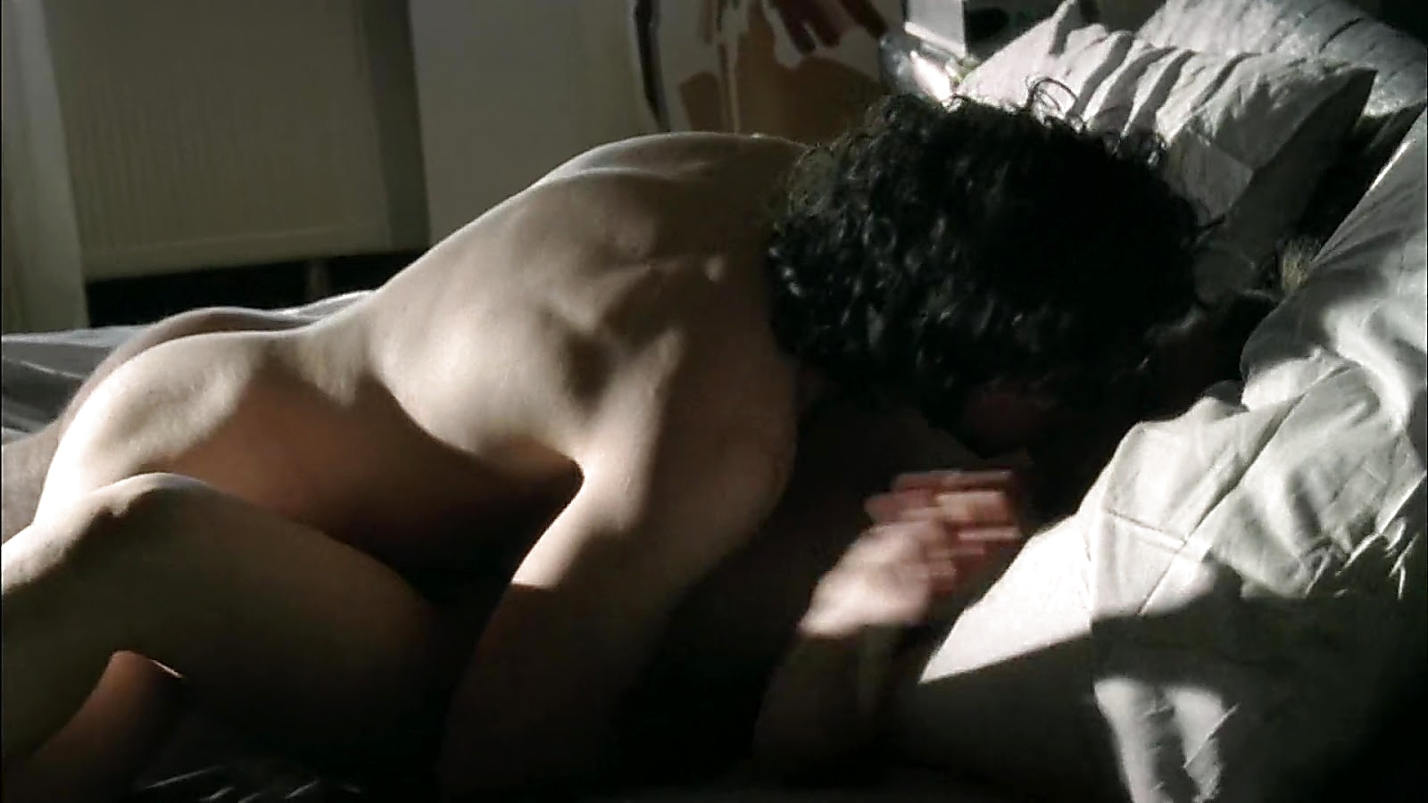 Francesco Montanari sexy shirtless scene March 14, 2020, 9am