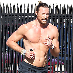 Gabriel Aubry latest sexy shirtless February 9, 2017, 5pm