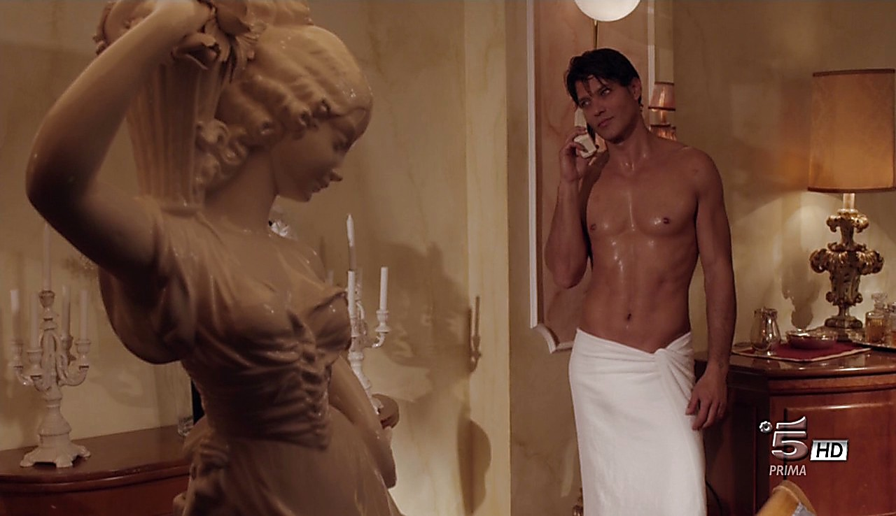 Gabriel Garko sexy shirtless scene May 22, 2017, 12pm