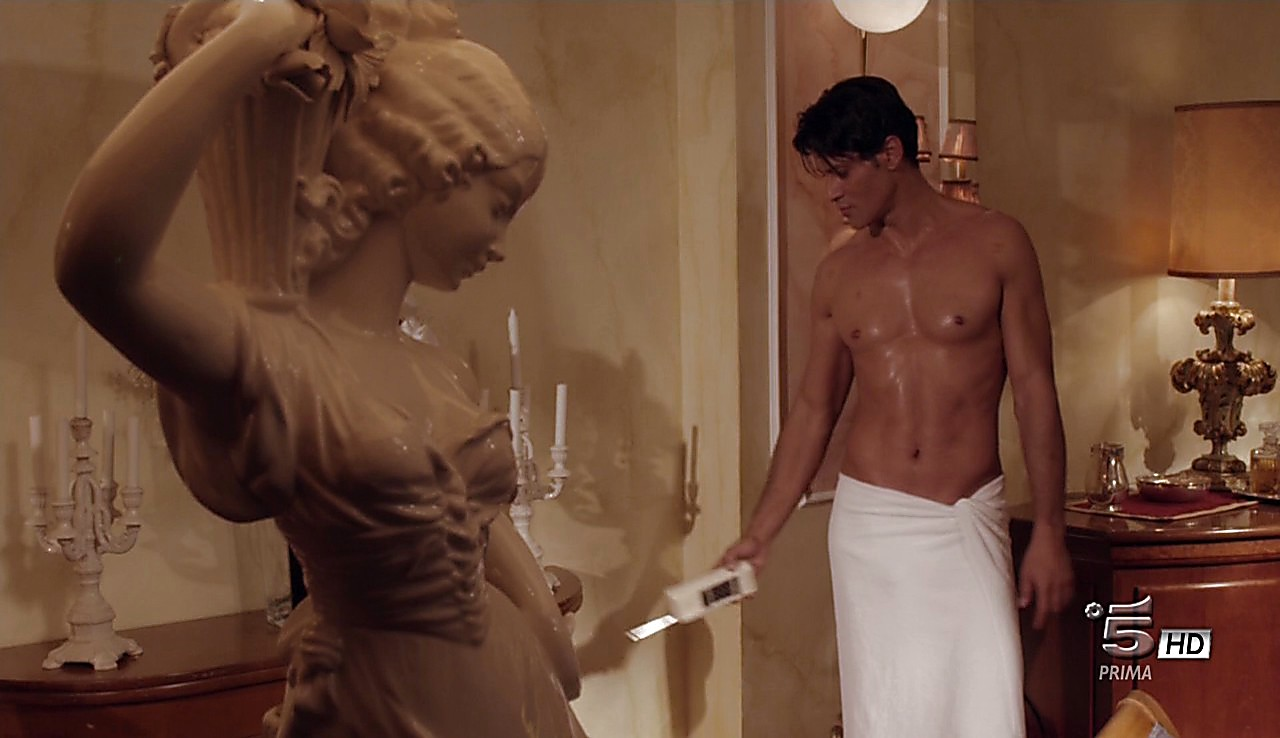Gabriel Garko sexy shirtless scene May 22, 2017, 12pm