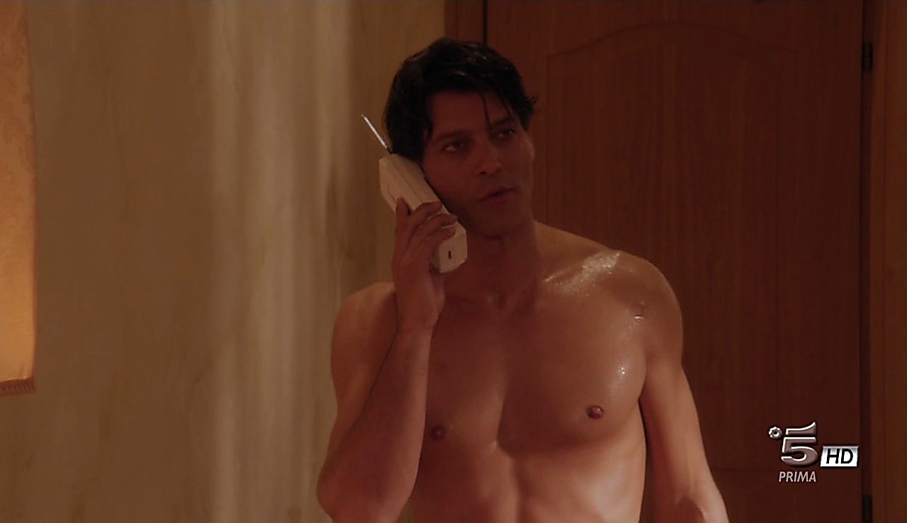 Gabriel Garko sexy shirtless scene May 15, 2017, 1pm