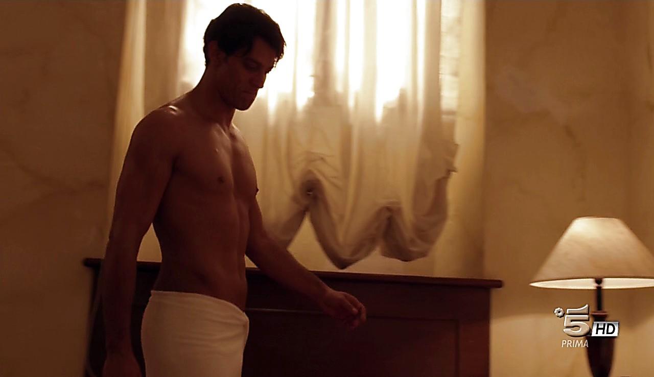 Gabriel Garko sexy shirtless scene May 15, 2017, 1pm