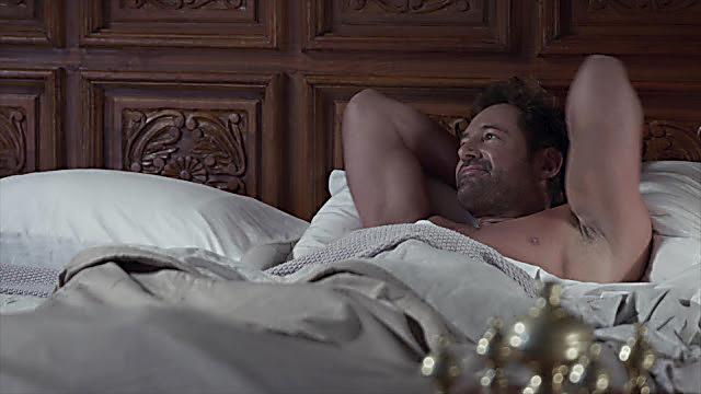 Gabriel Soto sexy shirtless scene February 9, 2021, 1pm