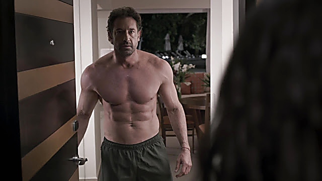 Gabriel Soto sexy shirtless scene February 16, 2021, 1pm