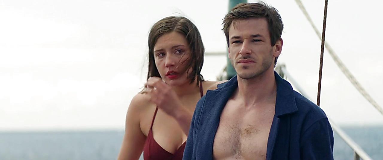 Gaspard Ulliel sexy shirtless scene November 24, 2019, 1pm