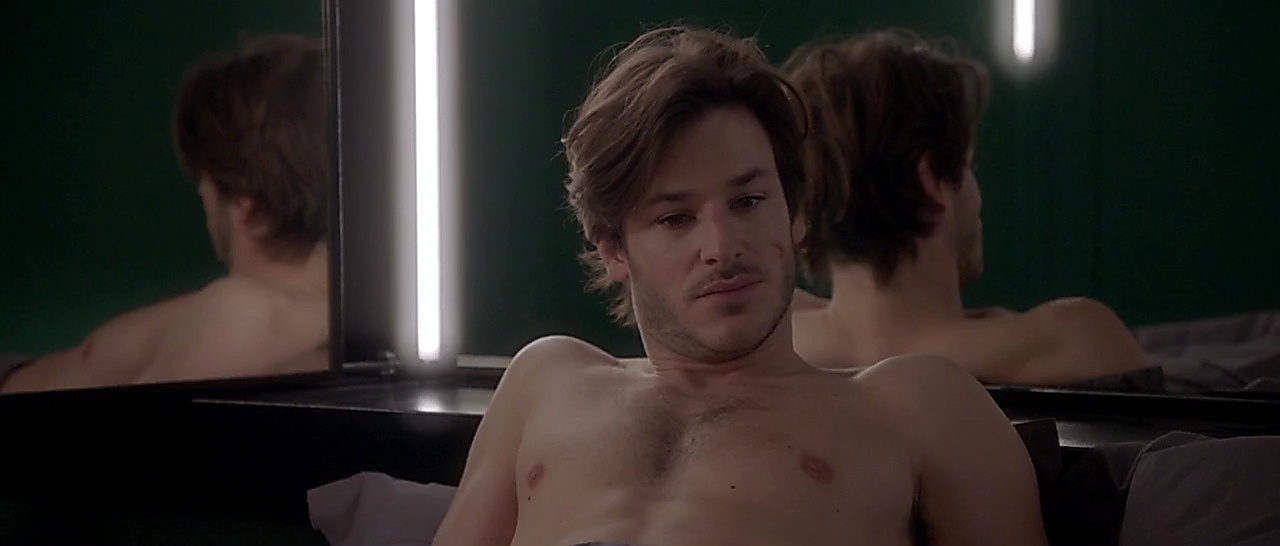 Gaspard Ulliel sexy shirtless scene July 12, 2018, 6am