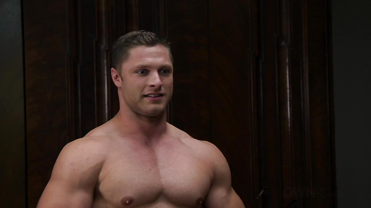 Gavin Houston sexy shirtless scene February 26, 2020, 11am