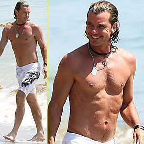 Gavin Rossdale latest sexy shirtless September 1, 2014, 5pm