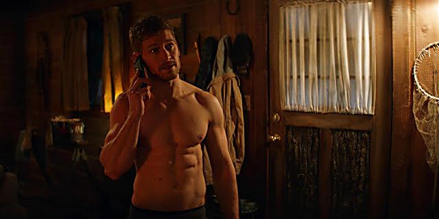 Gavin Stenhouse sexy shirtless scene June 9, 2021, 3am