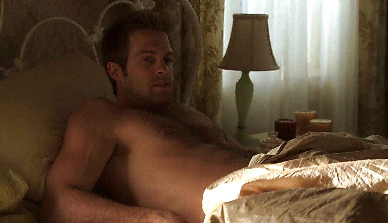 Geoff Stults sexy shirtless scene August 1, 2017, 11am