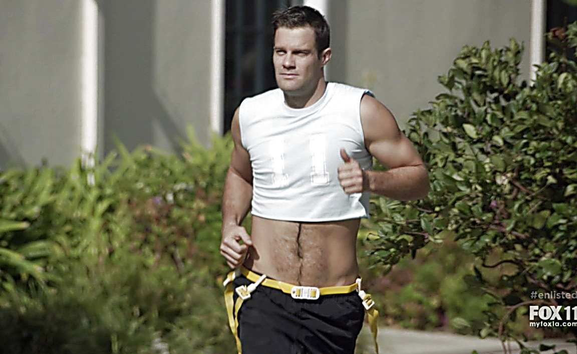 Geoff Stults sexy shirtless scene February 9, 2014, 12am