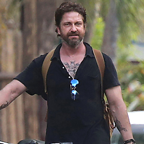 Gerard Butler latest sexy shirtless February 21, 2017, 7pm
