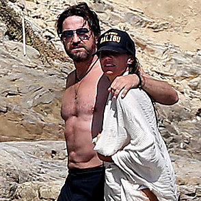 Gerard Butler latest sexy shirtless September 12, 2017, 2pm