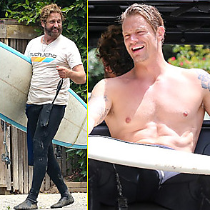 Gerard Butler latest sexy shirtless June 13, 2020, 2pm
