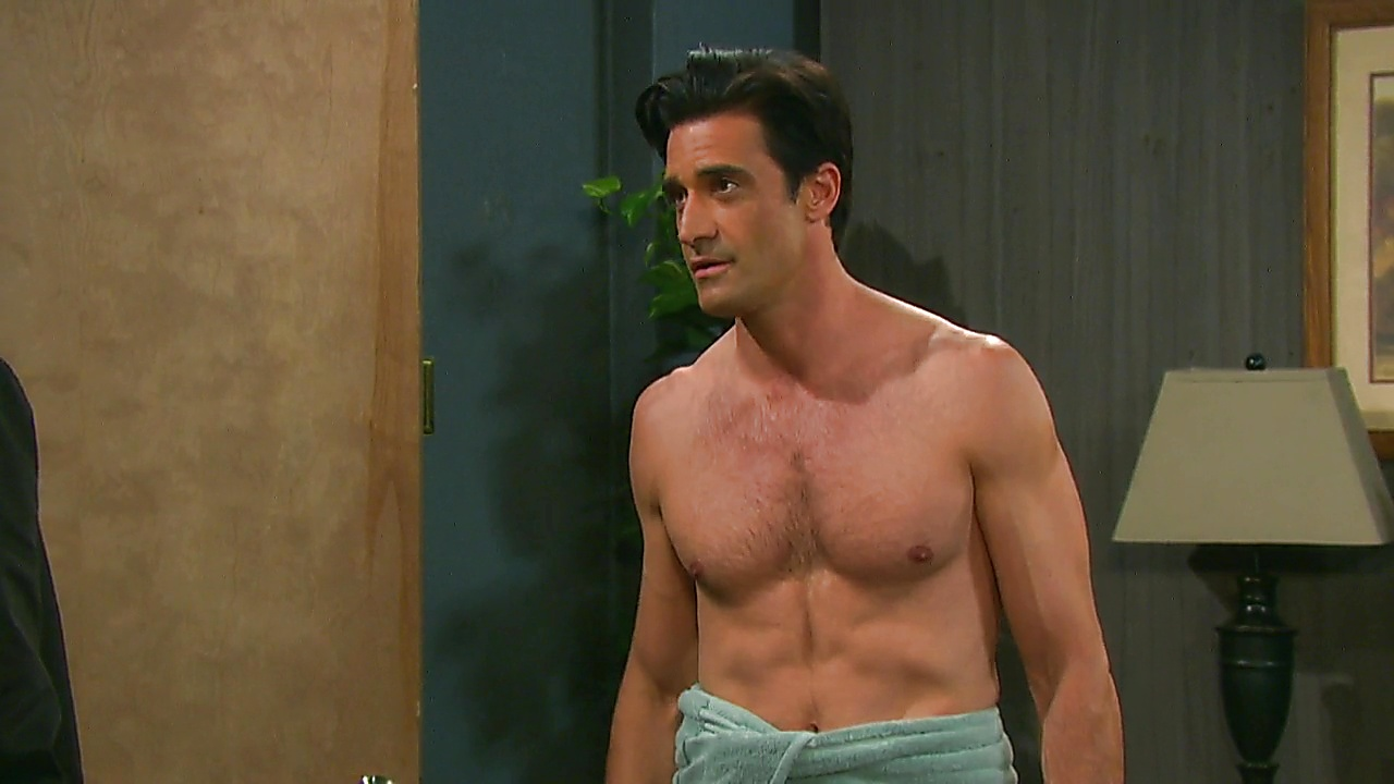 Gilles Marini sexy shirtless scene December 12, 2018, 11am