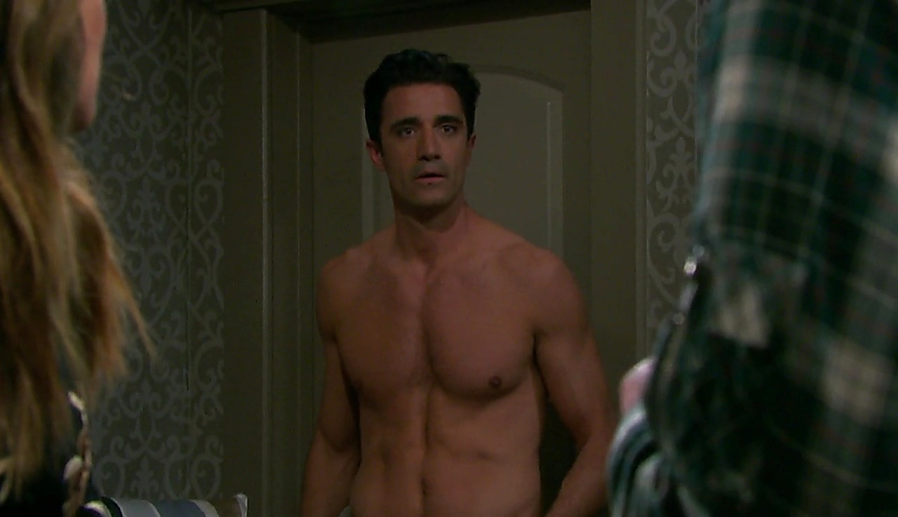 Gilles Marini sexy shirtless scene August 14, 2018, 11am