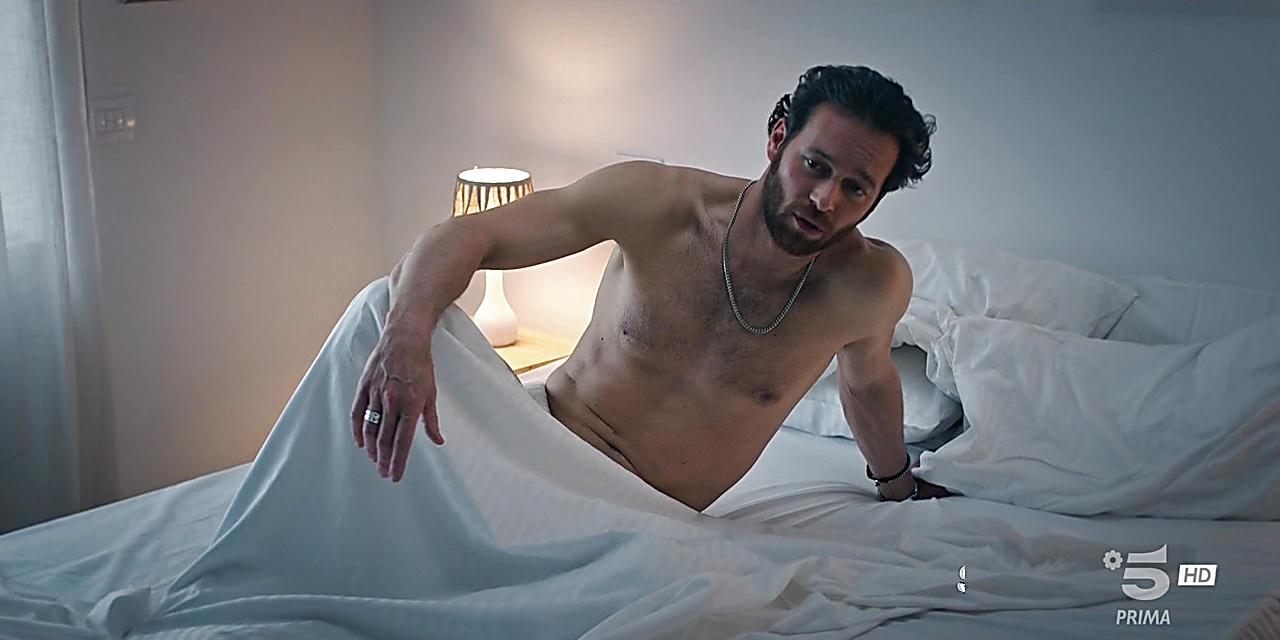 Giorgio Marchesi sexy shirtless scene November 15, 2019, 2pm