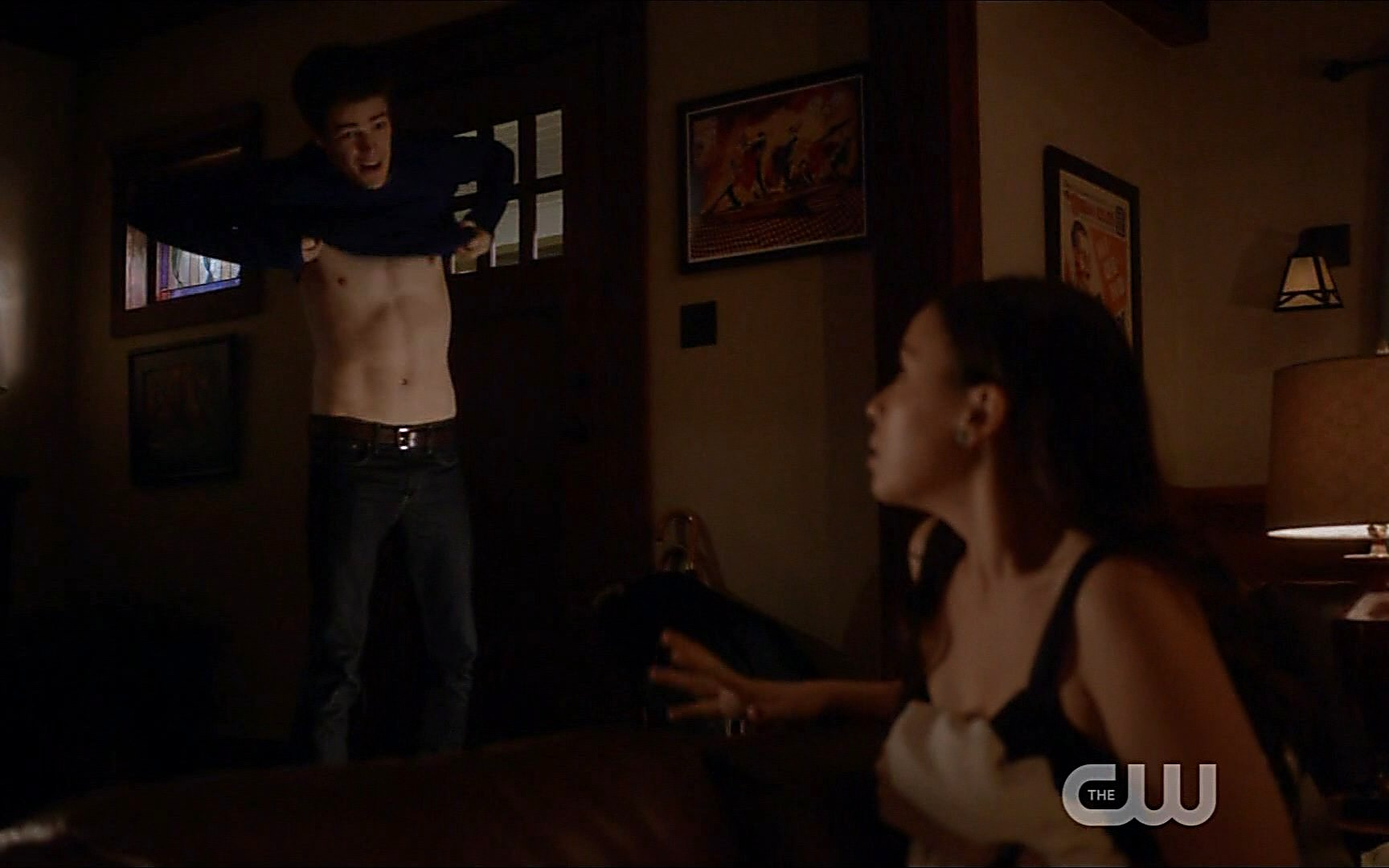 Grant Gustin   Flash1x13  09