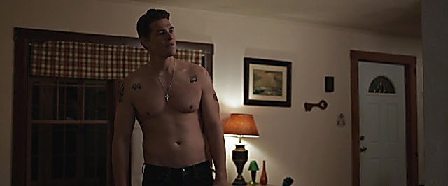 Greg Finley sexy shirtless scene July 15, 2021, 1pm