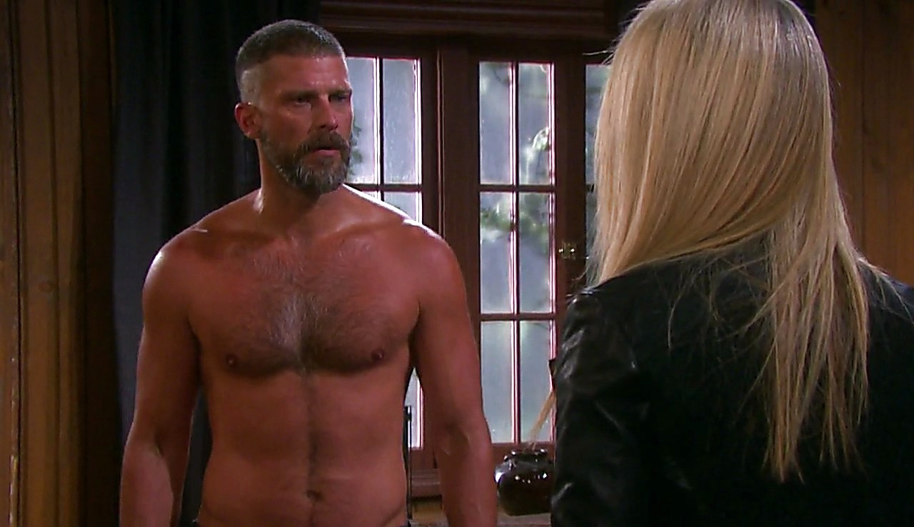 Greg Vaughan sexy shirtless scene February 28, 2017, 12pm