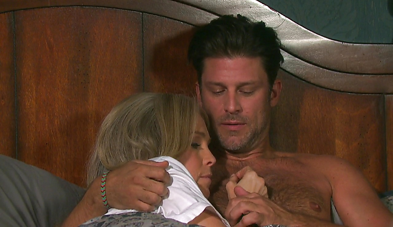 Greg Vaughan sexy shirtless scene April 7, 2018, 12pm