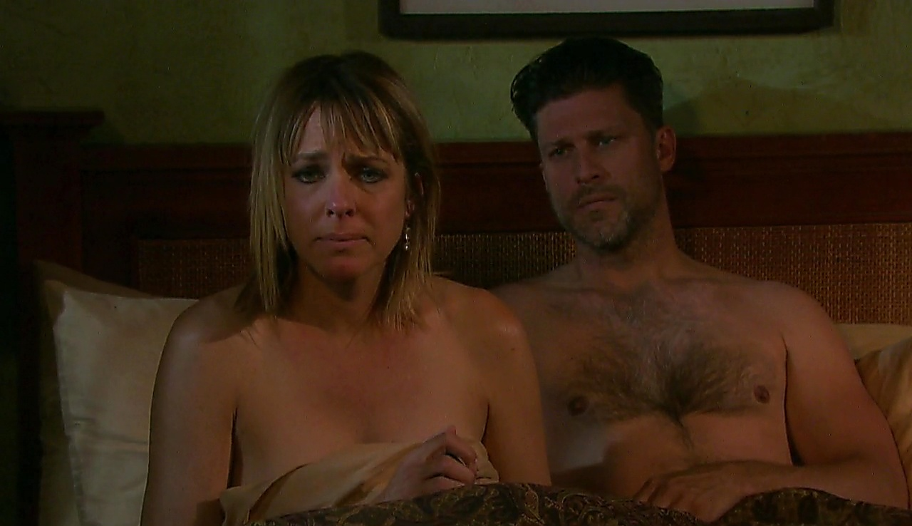 Greg Vaughan sexy shirtless scene October 11, 2017, 1pm