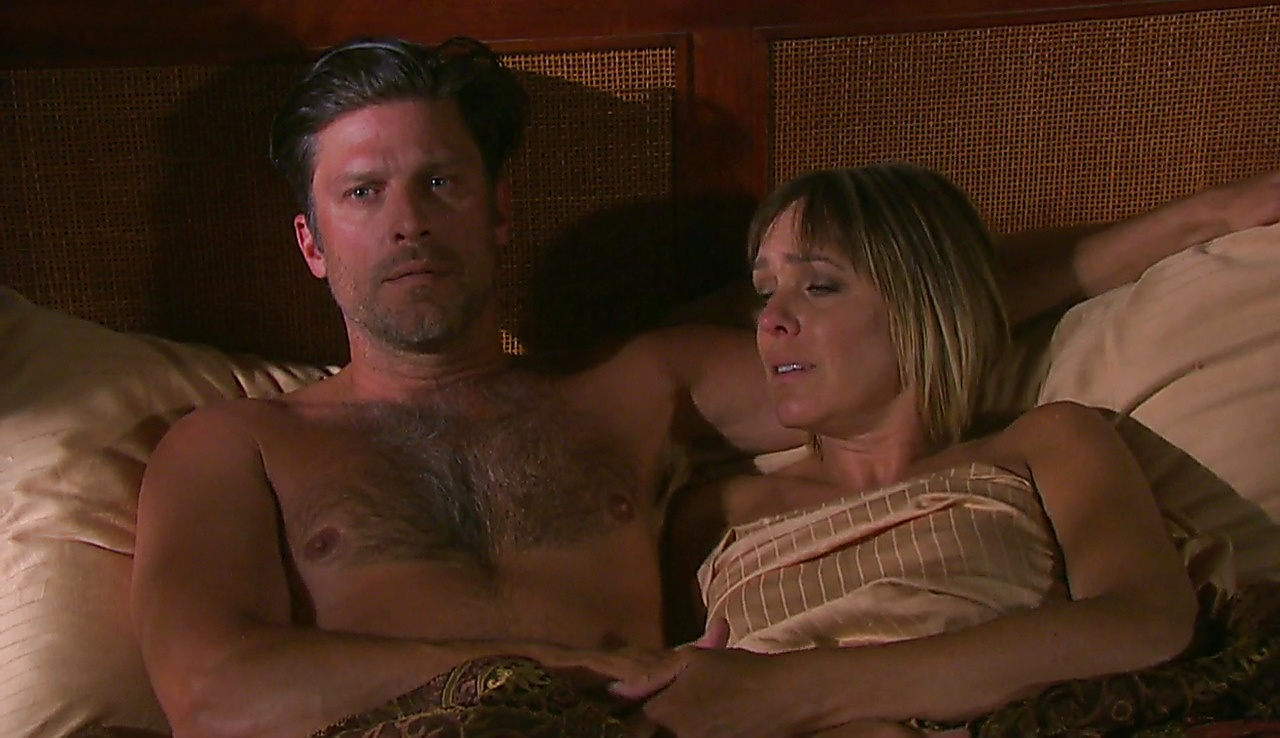 Greg Vaughan latest sexy shirtless scene October 12, 2017, 1pm