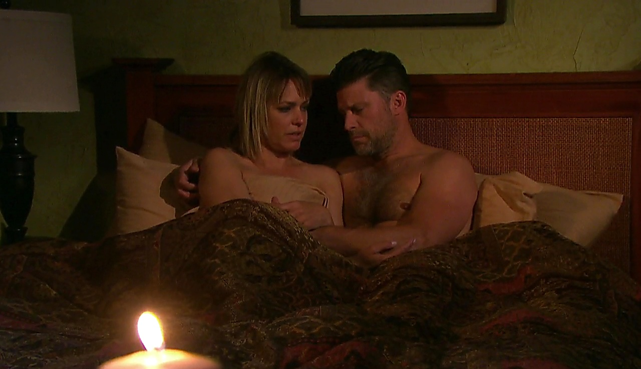 Greg Vaughan sexy shirtless scene October 11, 2017, 12pm