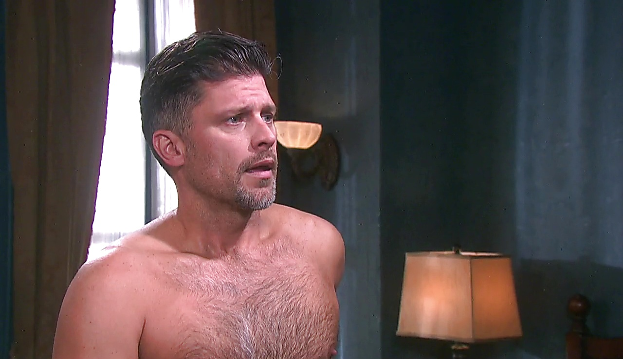 Greg Vaughan sexy shirtless scene January 31, 2018, 12pm