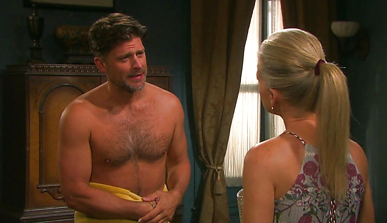 Greg Vaughan sexy shirtless scene March 3, 2018, 11am