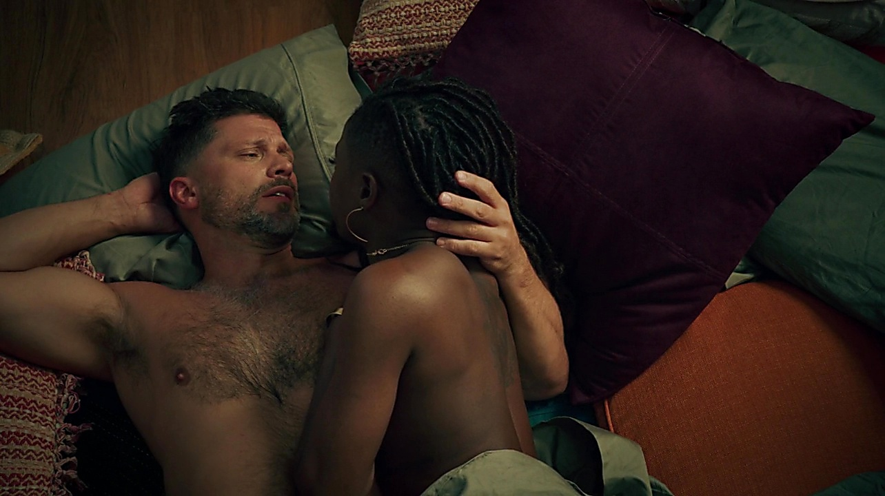 Greg Vaughan sexy shirtless scene September 8, 2019, 12pm
