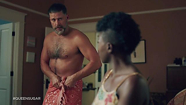 Greg Vaughan sexy shirtless scene March 10, 2021, 3am
