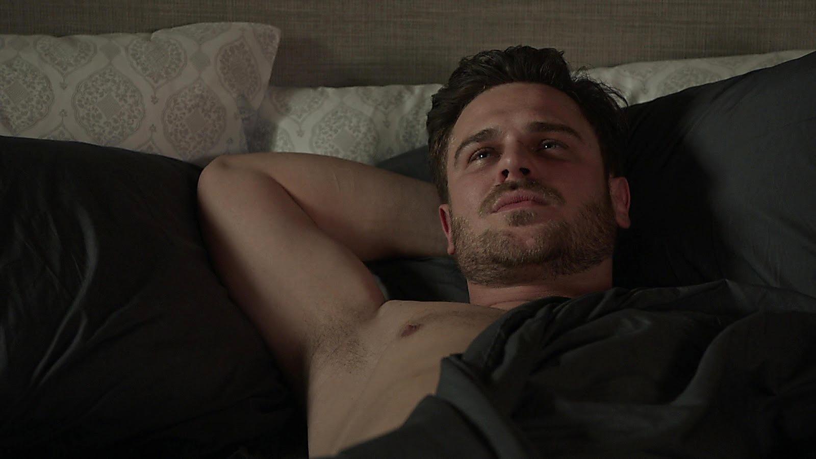 Grey Damon sexy shirtless scene March 6, 2020, 8am
