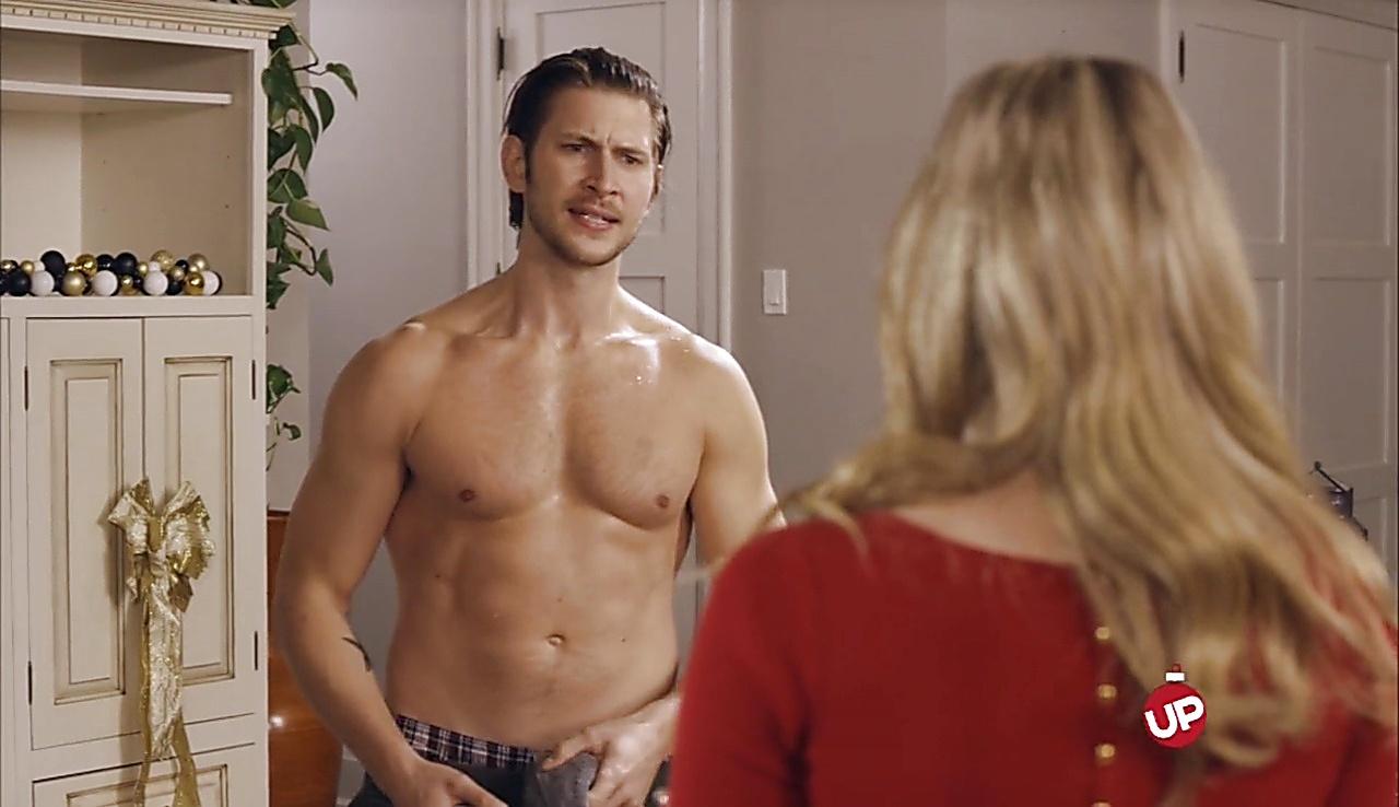 Greyston Holt sexy shirtless scene November 13, 2017, 3pm