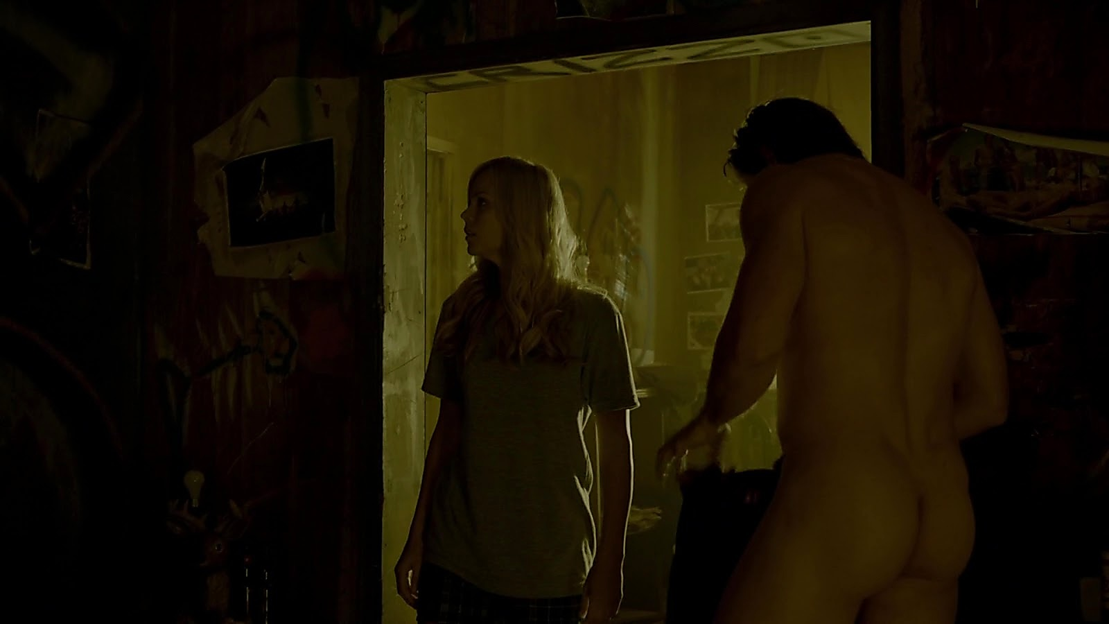 Greyston Holt sexy shirtless scene April 8, 2020, 5am