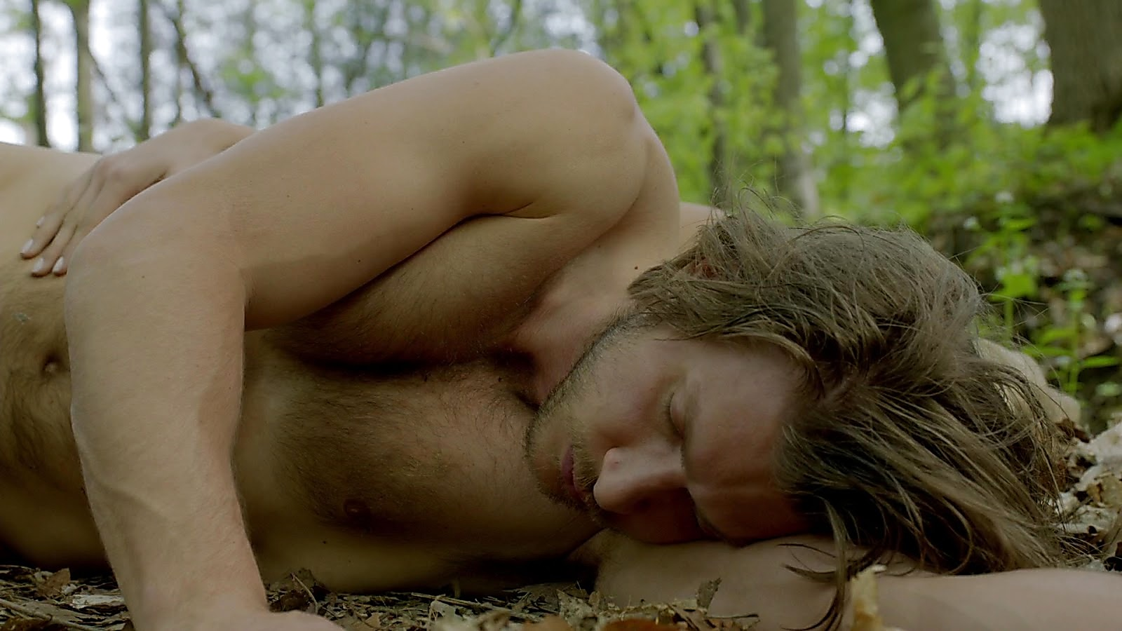 Greyston Holt sexy shirtless scene April 12, 2020, 9am
