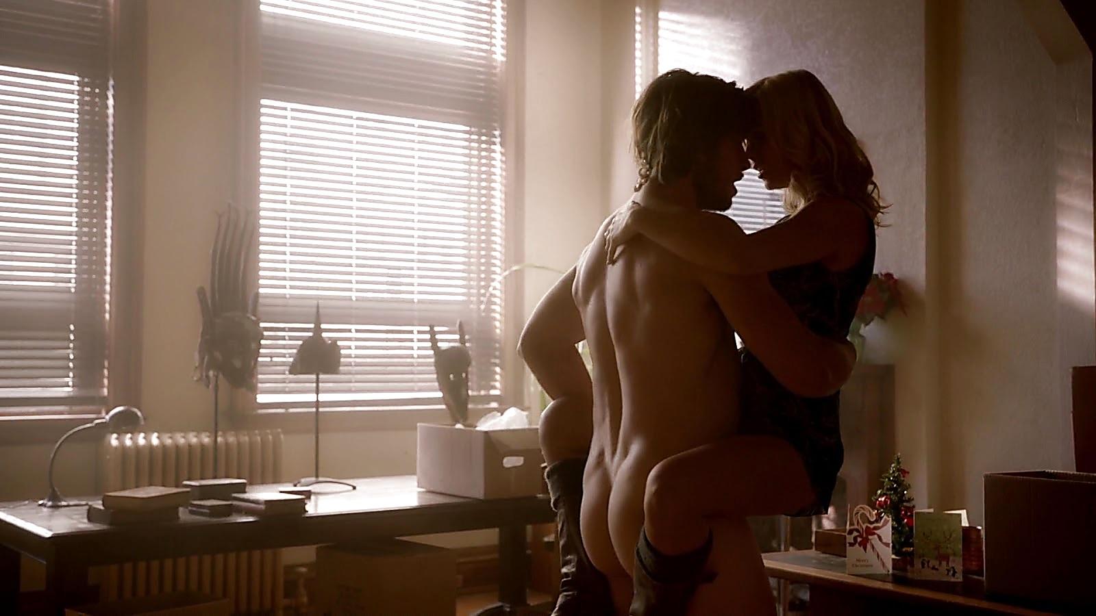 Greyston Holt sexy shirtless scene May 3, 2020, 11am