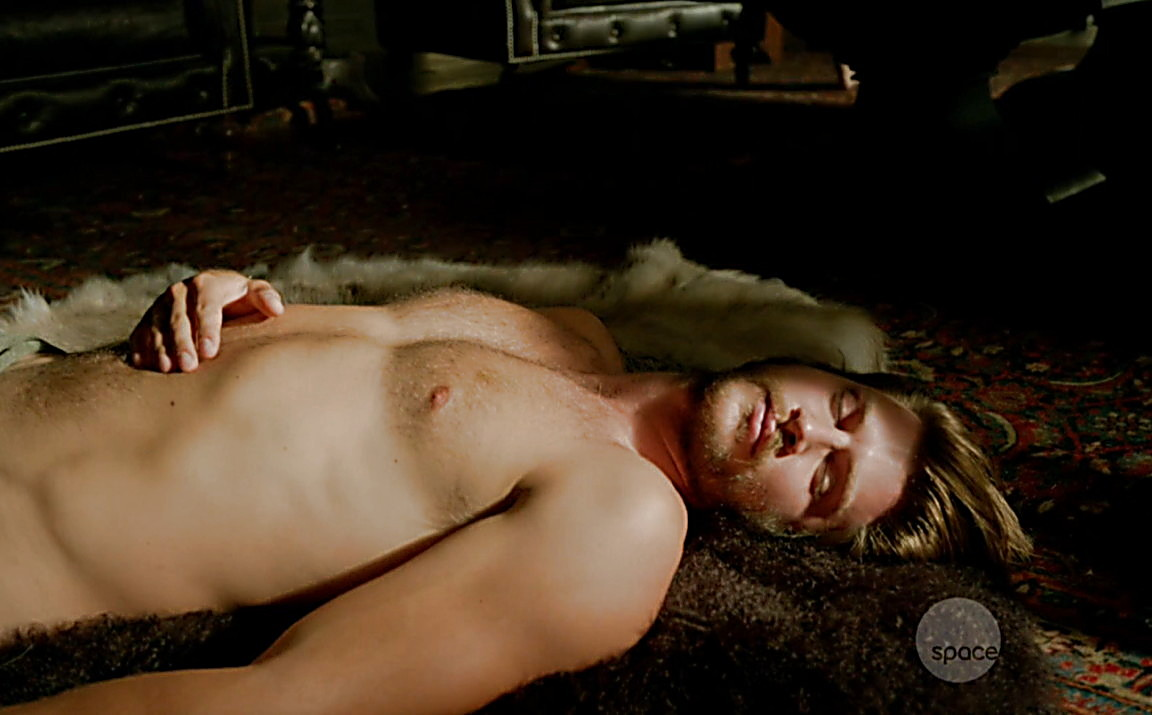 Greyston Holt sexy shirtless scene May 17, 2014, 7pm