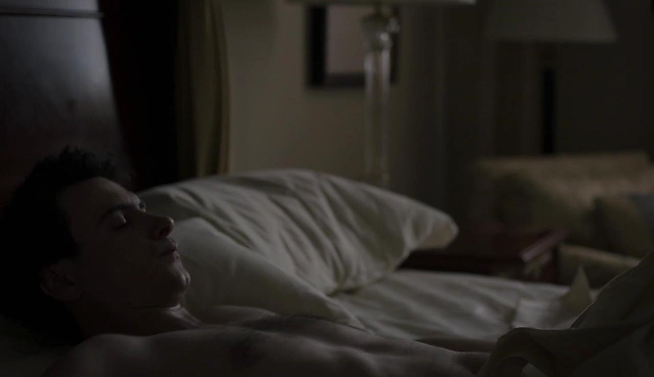 Harry Lloyd sexy shirtless scene February 4, 2018, 9am
