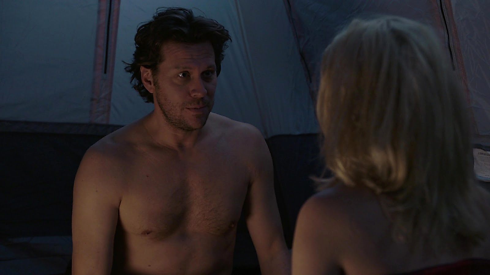Hayes Macarthur sexy shirtless scene September 29, 2019, 12pm