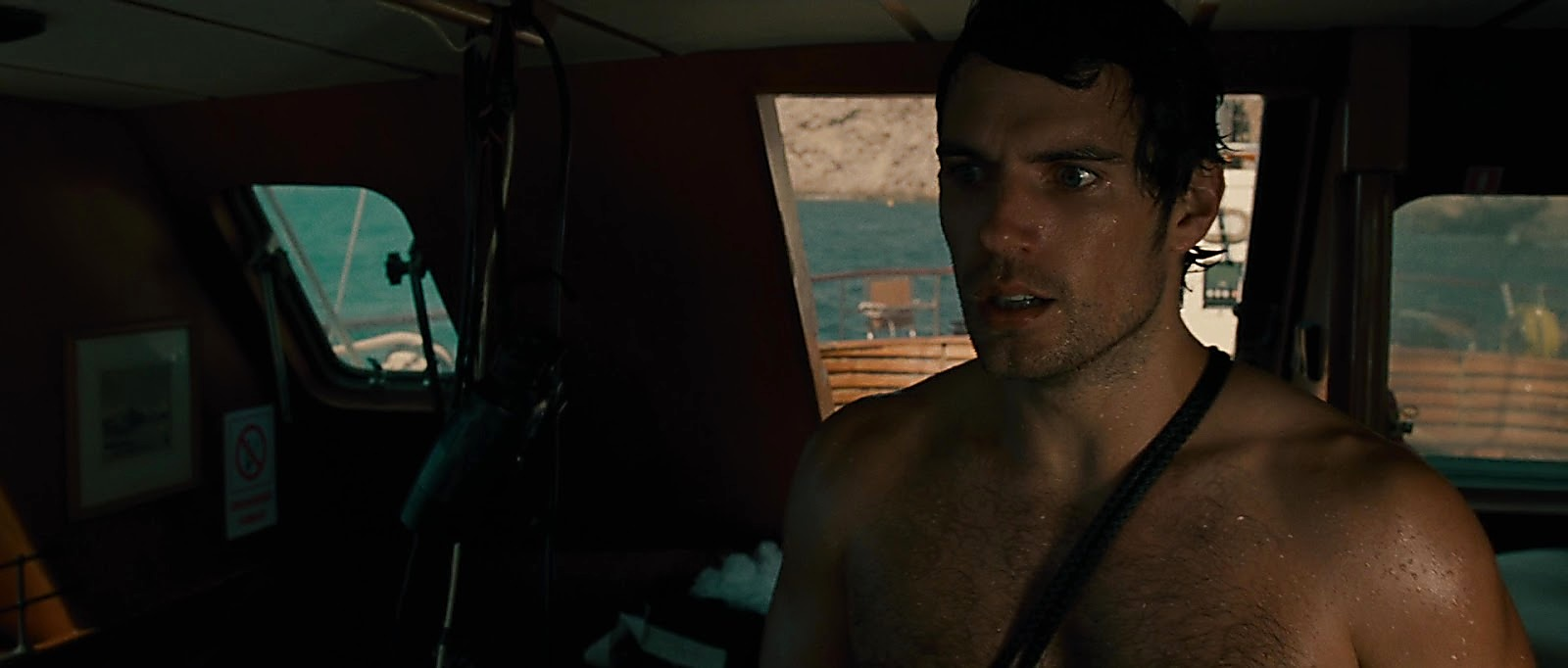 Henry Cavill sexy shirtless scene June 23, 2019, 11am
