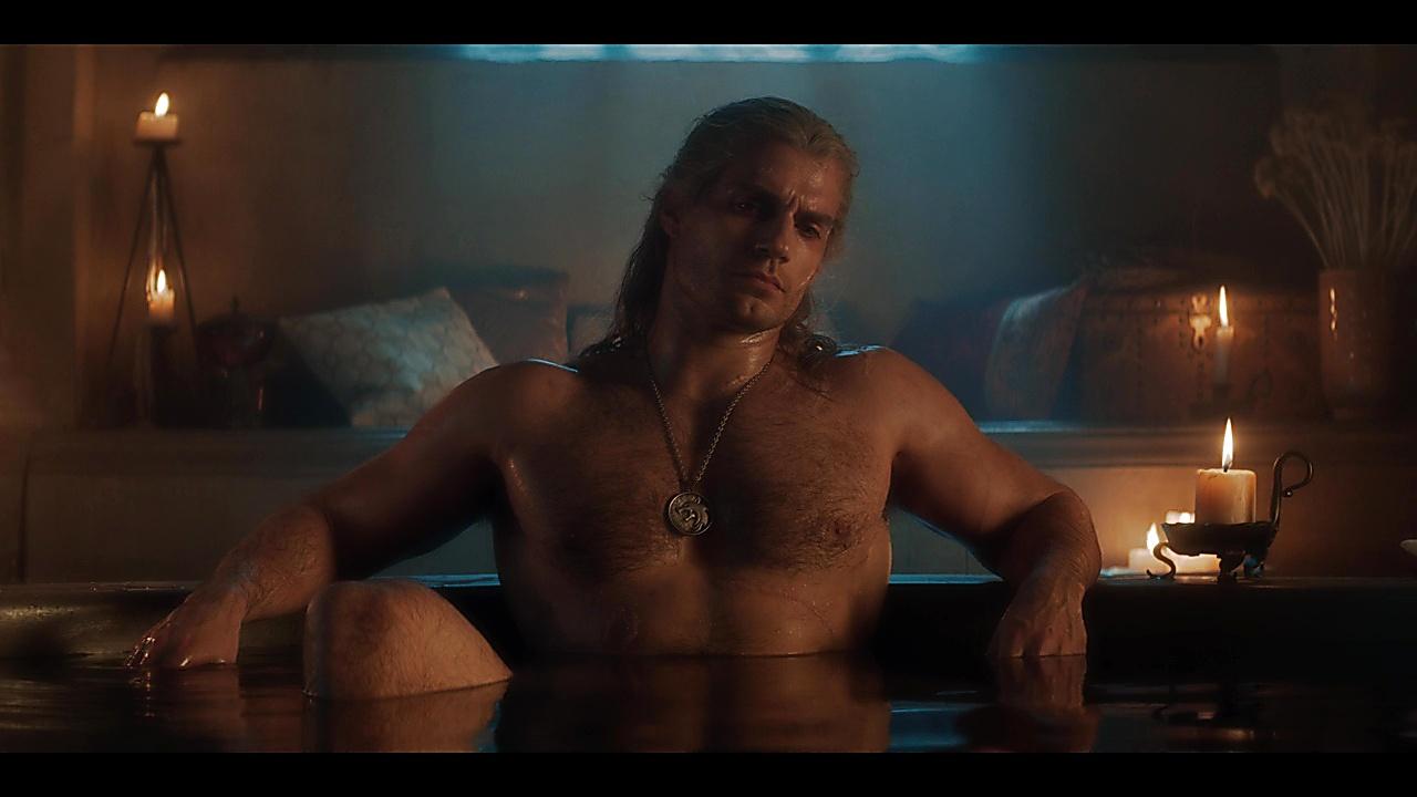 Henry Cavill sexy shirtless scene December 20, 2019, 6am