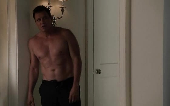 Holt Mccallany sexy shirtless scene October 17, 2014, 11pm