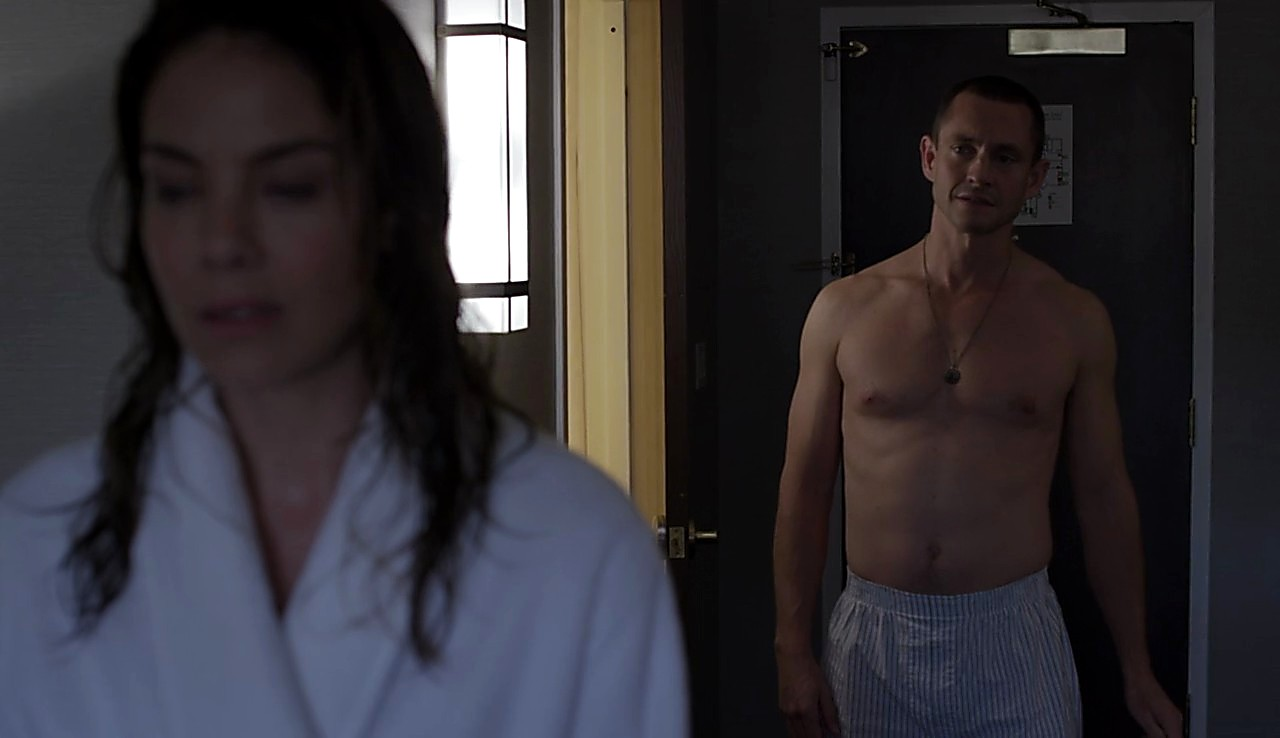 Hugh Dancy sexy shirtless scene March 22, 2017, 2pm