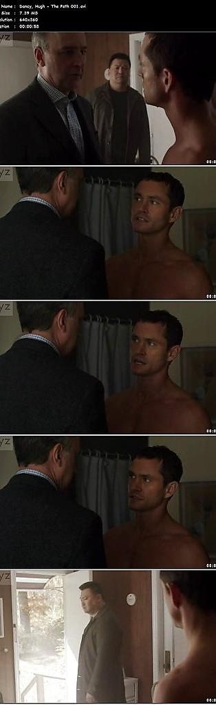 Hugh Dancy sexy shirtless scene June 28, 2016, 8pm